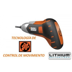 "Bdcs36g Screwdriver ""gyro"" 3,6v Litium"