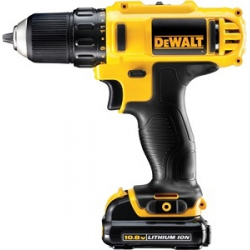 DCD710D3 DRILL DRIVER 10,8v; 10mm; 3 BATTERIES 2,0Ah; CASE
