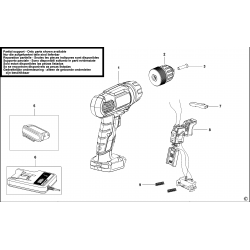 EPL18K Type H1 CORDLESS DRILL