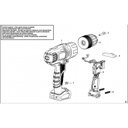 BDCH188 Type H1 HAMMER DRILL