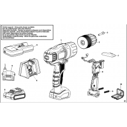 EGBL14 Type H1 CORDLESS DRILL