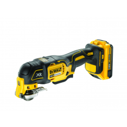 "DCS355D2 OSCILATING MULTITOOL ""BRUSHLESS"" 18v; 2 LITHIUM BATTERIES 2,0Ah"