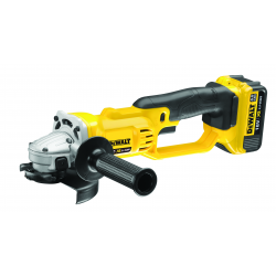 DCG412M2 CORDLESS ANGLE GRINDER 18v; 2 BATTERIES LITIUM 4Ah; 125mm; 7000rpm; 3,0Kg