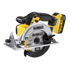 DCS391M2 CIRCULAR SAW 18v; 2 LITIUM BATTERIES 4,0Ah; 165mm; 3700rpm; 3,8Kg
