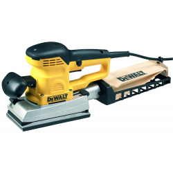 D26422 ORBITAL SANDER 350w; 1/3 SHEET 93x190mm; 12000-22000rpm; 24000-44000opm; 2,8Kg