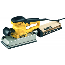 D26420 ORBITAL SANDER 350w; 1/2 SHEET 112x236mm; 12000-22000rpm; 24000-44000opm; 2,8Kg