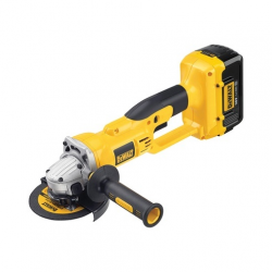 DC415M2 CORDLESS ANGLE GRINDER 36v; 2 BATTERIES; 4,0Ah LITIUM 125mm; 6500rpm; 2,4Kg; NO BATTERIES