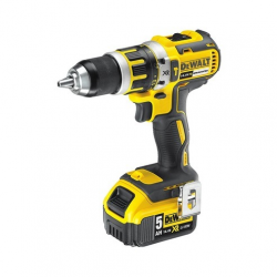 "DCD737P2 HAMMER/DRILL/DRIVER ""BRUSHLESS"" 14,4v; 5,0Ah; 0-550/2000 rpm; 13mm; CASE"