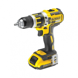 "DCD737D2 HAMMER/DRILL/DRIVER ""BRUSHLESS"" 14,4v; 2,0Ah; 0-550/2000 rpm; 13mm; CASE"