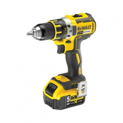 "DCD732P2 DRILL DRIVER ""BRUSHLESS"" 14,4v; 5,0Ah 2 BATTERIES; 13mm; 0-550/2000 rpm"