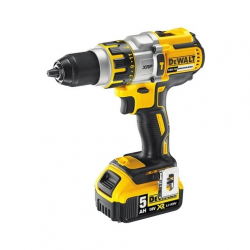"DCD995P2 HAMMER/DRILL/DRIVER ""BRUSHLESS"" 18v; 5,0Ah; 0-450/1300/2000 rpm; 13mm; CASE"