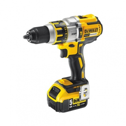 "DCD937P2 HAMMER/DRILL/DRIVER ""BRUSHLESS"" 14,4v; 5,0Ah; 0-420/1250/1850 rpm; 13mm; CASE"