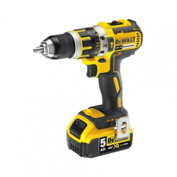 "DCD795P2 HAMMER/DRILL/DRIVER ""BRUSHLESS"" 18v; 5,0Ah; 0-600/2000 rpm; 13mm; CASE"