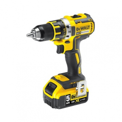 "DCD790P2 DRILL DRIVER ""BRUSHLESS"" 18v; 5,0Ah 2 BATTERIES; 13mm; 0-600/2000 rpm"