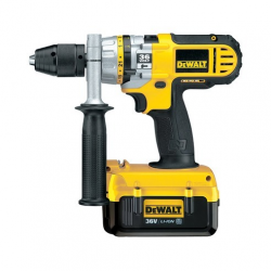 DC901M2 HAMMER/DRILL/DRIVER 36v; 2 BATTERIES 4,0Ah; 0-400/1200/1600 rpm; 13mm; CASE