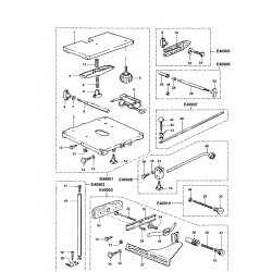 096203400 Type 1 Table Kit