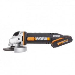 Wx800- Amoladora Angular 115mm 20v 2bat 2.0ah