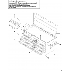 E010245B.1 Drawer Cabinet