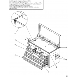 E010239B.1 Drawer Cabinet