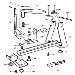 A5548 Type 1 Planer Stand