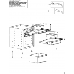5010 A4/6.1 Drawer Cabinet