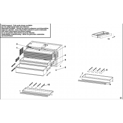 JLS2-MBD5T.1 Drawer Cabinet