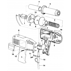Bd1400 Type 1 Heatgun