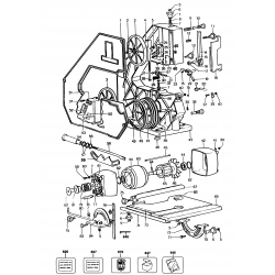 Bd339-----a Type 1 Bandsaw