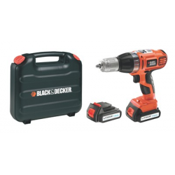 ASL148KB CORDLESS HAMMER DRILL 14,4v LITIUM 1,3Ah, AUTOSELECT, 2 BATTERIES CASE