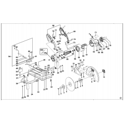 Bpsc2135 Type 1 Chop Saw