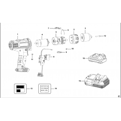 Cl3.p10jd Type 1 Drill/driver