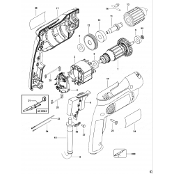 D21001 Type 1 Drill