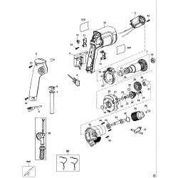 D21101 Type 3 Rotary Hammer Drill
