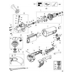 D28410 Type 1 Angle Grinder