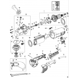 D28410 Type 2 Angle Grinder