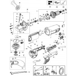 D28413 Type 1 Angle Grinder