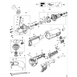 D28421 Type 1 Angle Grinder