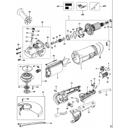 D28423 Type 1 Angle Grinder