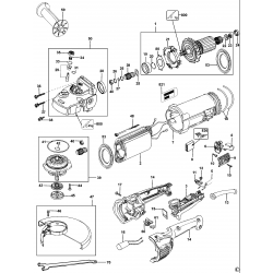 D28423 Type 2 Angle Grinder