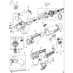 D28432c Type 2 Angle Grinder