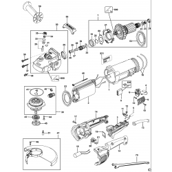 D28432c Type 3 Angle Grinder