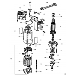 Dw673k Type 1 Motor Pack