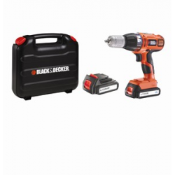 ASL188KB CORDLESS HAMMER DRILL 18v, 1,3Ah, 2 BATTERIES, AUTOSELECT, CASE